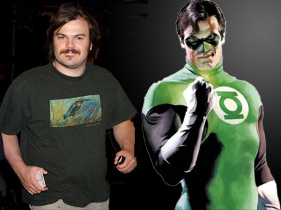 Jack Black and Green Lantern