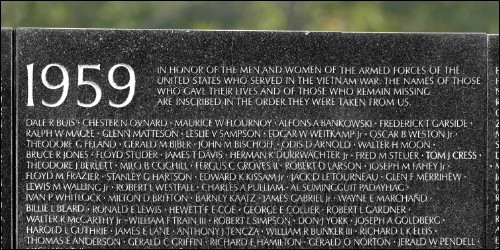 Interactive Vietnam Veterans Memorial